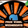 Introducing Prize Wheel Wednesdays!