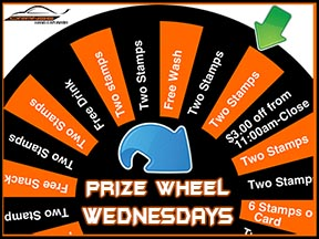 Prize Wheel Wednesdays